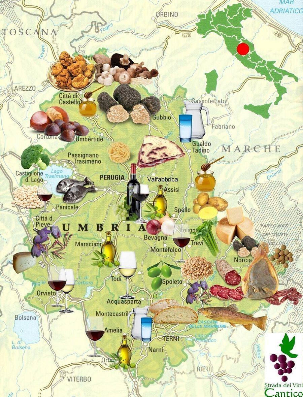 Prodotti Gastronomici - Umbria